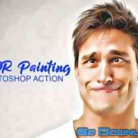 CreativeMarket HDR Painting Photoshop Actions 4909711 Free Download
