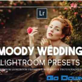CreativeMarket Moody Wedding Lightroom Presets 5125346 Free Download