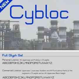 Cybloc Sans Serif Font Free Download