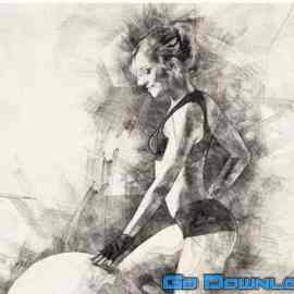 GraphicRiver Pencil Drawing Photoshop Action 19737 Free Download