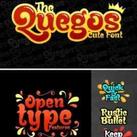 Quegos Font Free Download