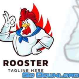 ROOSTER – Mascot Logo Free Download