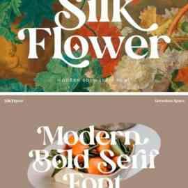 Silk Flower Serif Font Free Download