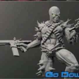 Spawn 3D Print Model Free Download