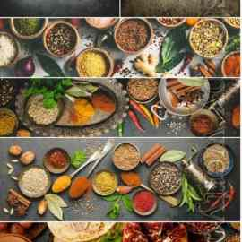 Spice set stock photo Free Download
