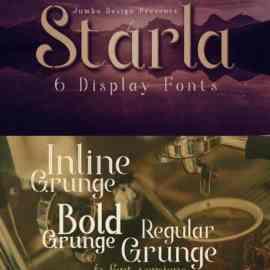 Starla Display Font 12 Free Download