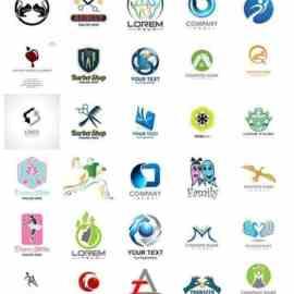 100 Bundle logo vector design vol 3 Free Download