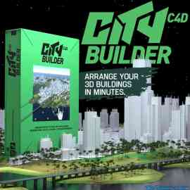 C4D CityBuilder Pro Free Download