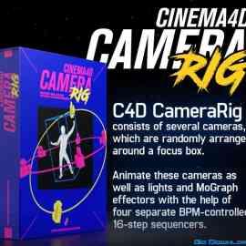 Cinema4D CameraRIG Plugin Free Download