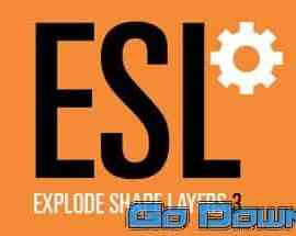 Explode Shape Layers 3.5.2 for After Effects Free Download