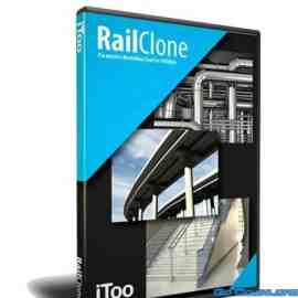 iToo Software – RailClone v3.3.1 for 3ds Max 2017-2022 Free Download