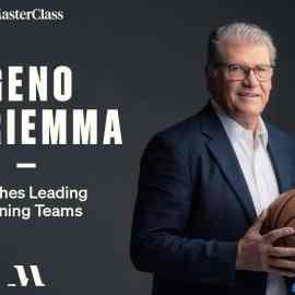 MasterClass – Geno Auriemma Teaches Leading Winning Teams