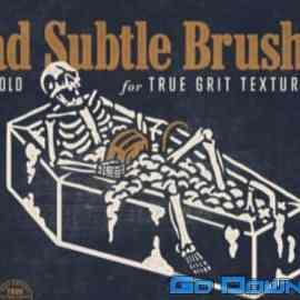 True Grit Texture Supply Dead Subtle Brush Set Free Download