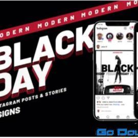 Videohive Black Friday Instagram Promo V72 34348657 Free Download