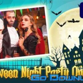 Videohive Halloween Night Party Opener 34066646 Free Download