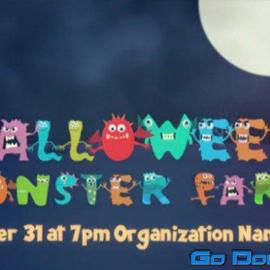 Videohive Halloween Party Opener 34334717 Free Download