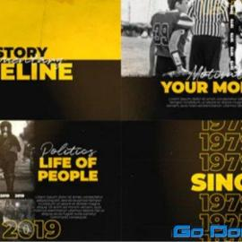 Videohive History Documentary Timeline 34345408 Free Download