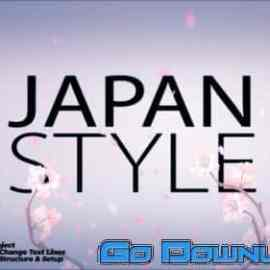 Videohive Japan Style Intro Romantic Titles Animation Promo Premiere Pro 34096420 Free Download