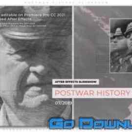 Videohive Postwar History Slideshow 34152110 Free Download