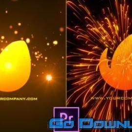Videohive Red Electric Cinematic Logo Revealer Premiere Pro 34056286 Free Download