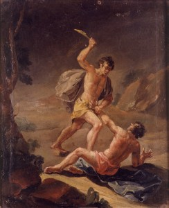 Cain and Abel by Josep_Vergara - Wiki Commons