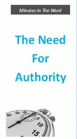 The Need For Authority