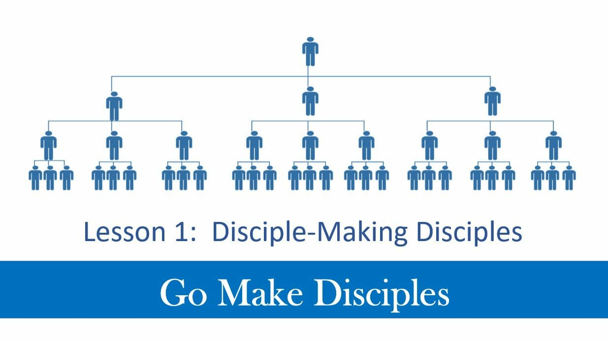 Go Make Disciples (Lesson 1 – Disciples Making Disciples)