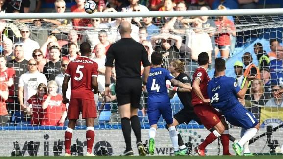 Liverpool laisse filer l'espoir ? (Source : premierleague.com)