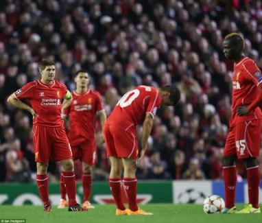 Liverpool n'espère pas revoir un tel scénario. (Source : Ian Hodgson)