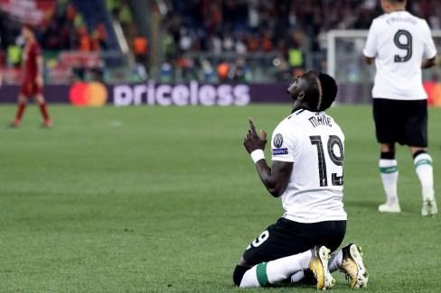 Sadio Mané dans la Ville Eternelle. (Source : uefa.com)