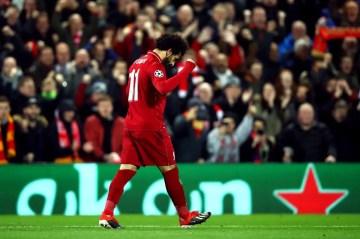 Mo Salah, regard bas mais vise haut. (Photo : @ChampionsLeague)