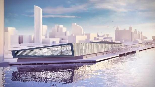 Projet du futur terminal de croisières bénéficiant de fonds européens
