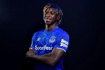 Prodige annoncé, Moise Kean a fait le pari de signer à Everton (Crédits : Premier League).
