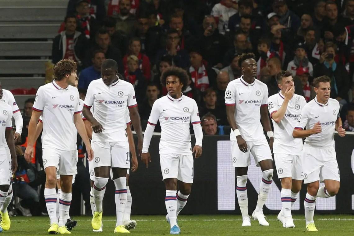 Première victoire pour lesBlues en Ligue des Champions (crédit: BBC)