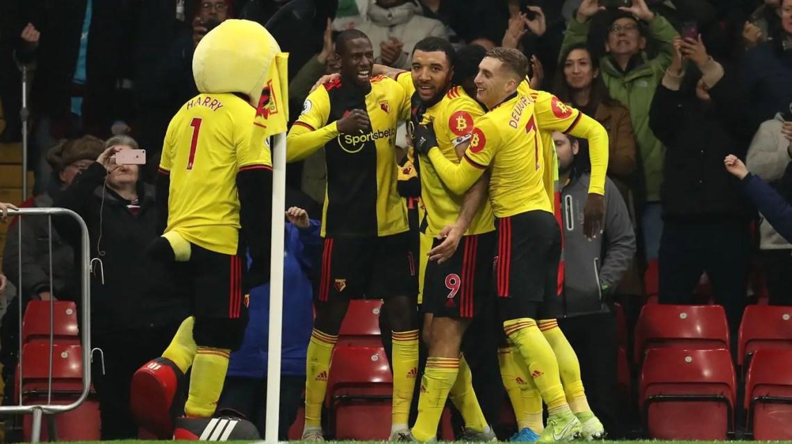 Doucouré et le trio offensif de Watford ont maîtrisé Bournemouth (Crédits: premierleague.com)