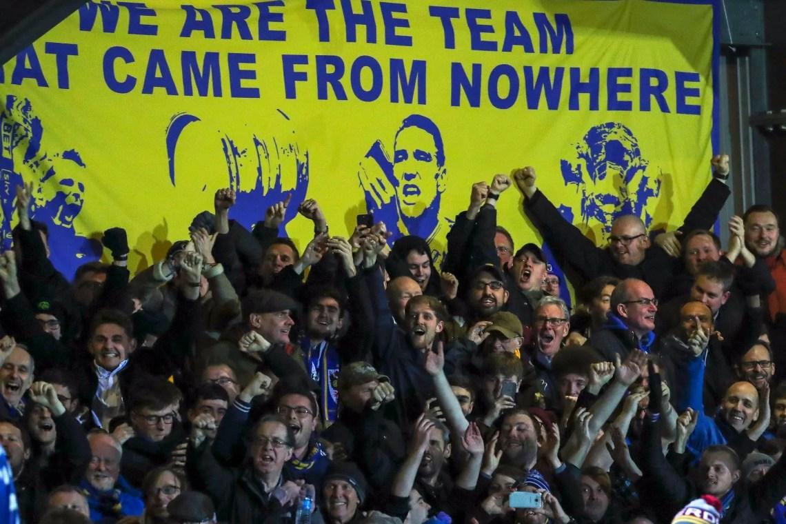 """""""Nous sommes l'équipe venue de nulle part"""" (Crédits: AFC Wimbledon Fans)"""