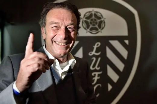 Le propriétaire italien est arrivé à Leeds avec un passif largement en sa défaveur © Mirror