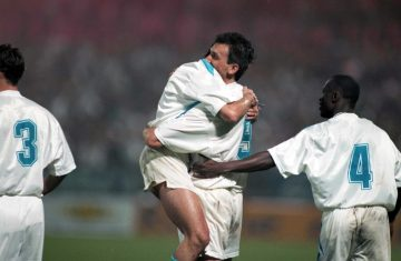 Tony Cascarino, légende de l'OM (Photo: Alain Gadoffre / Icon Sport)
