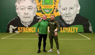 McGregor, l'enfant de Crumlin devenu héros du Lourdes Celtic FC (Crédits : ConorMcGregor/Twitter)