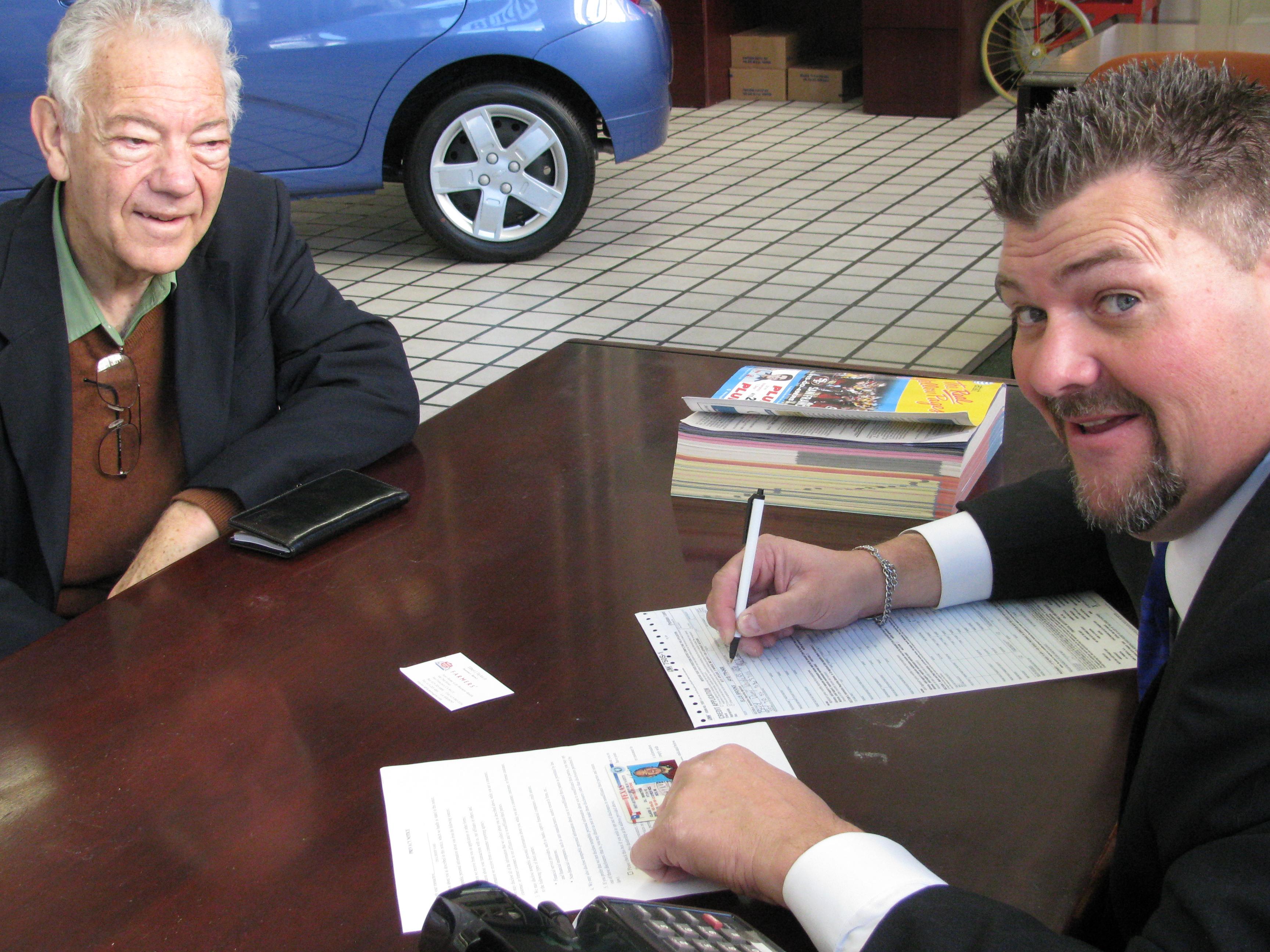 Dan and Arthur Brooks of Ellis Brooks Cars Close the Deal