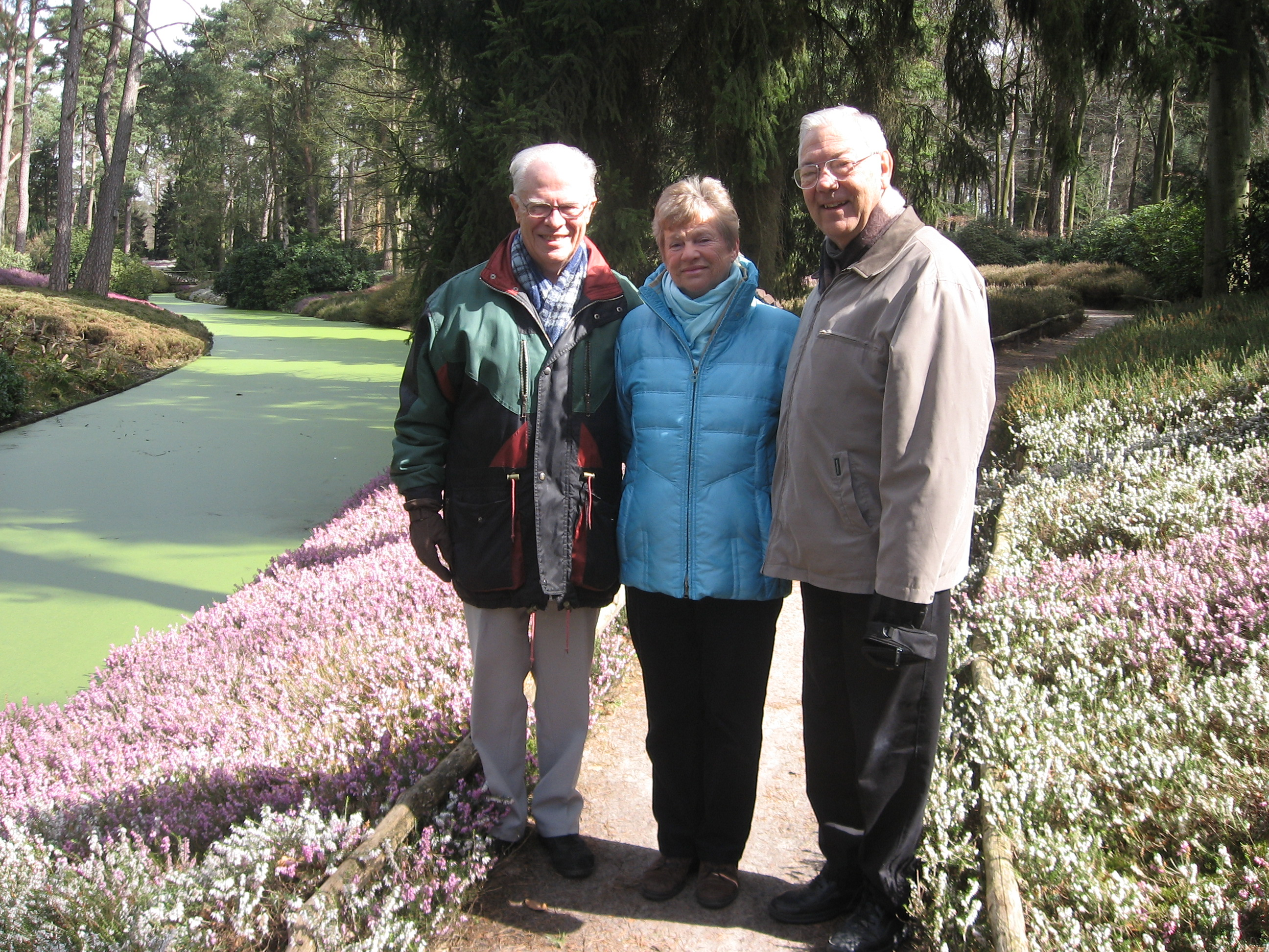 Dick and Hanny with Dan in Holland