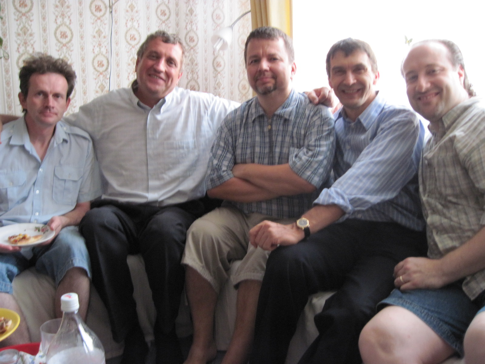 Budapest Church of Christ Men's Group encouraged me.