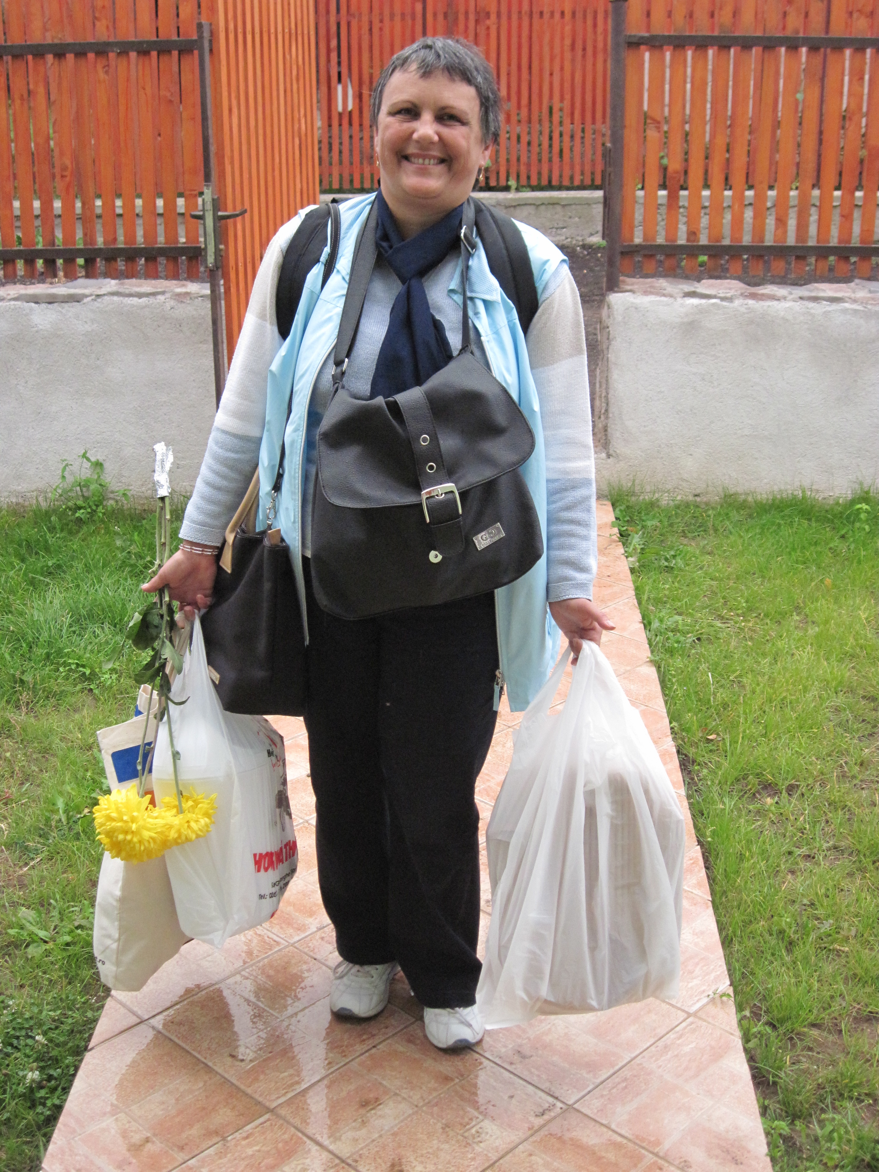 "Csilla, my personal ""Bag Lady"" took me to the best plastics shop.  I now own a dish drainer, several small trash cans, a mat for the front porch, etc.  Everyone should have a ""Bag Lady!"""