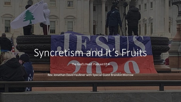 Brandon Morrow on Syncretism and its Fruits