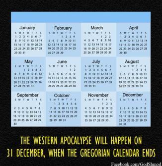 Gregorian Apocalypse