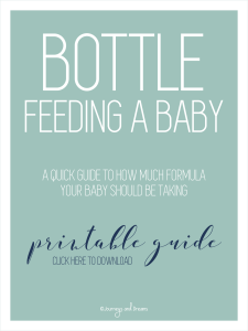 Foster Care - 12 Things to Have Before Fostering an Infant - Bottle Feeding a Baby 2