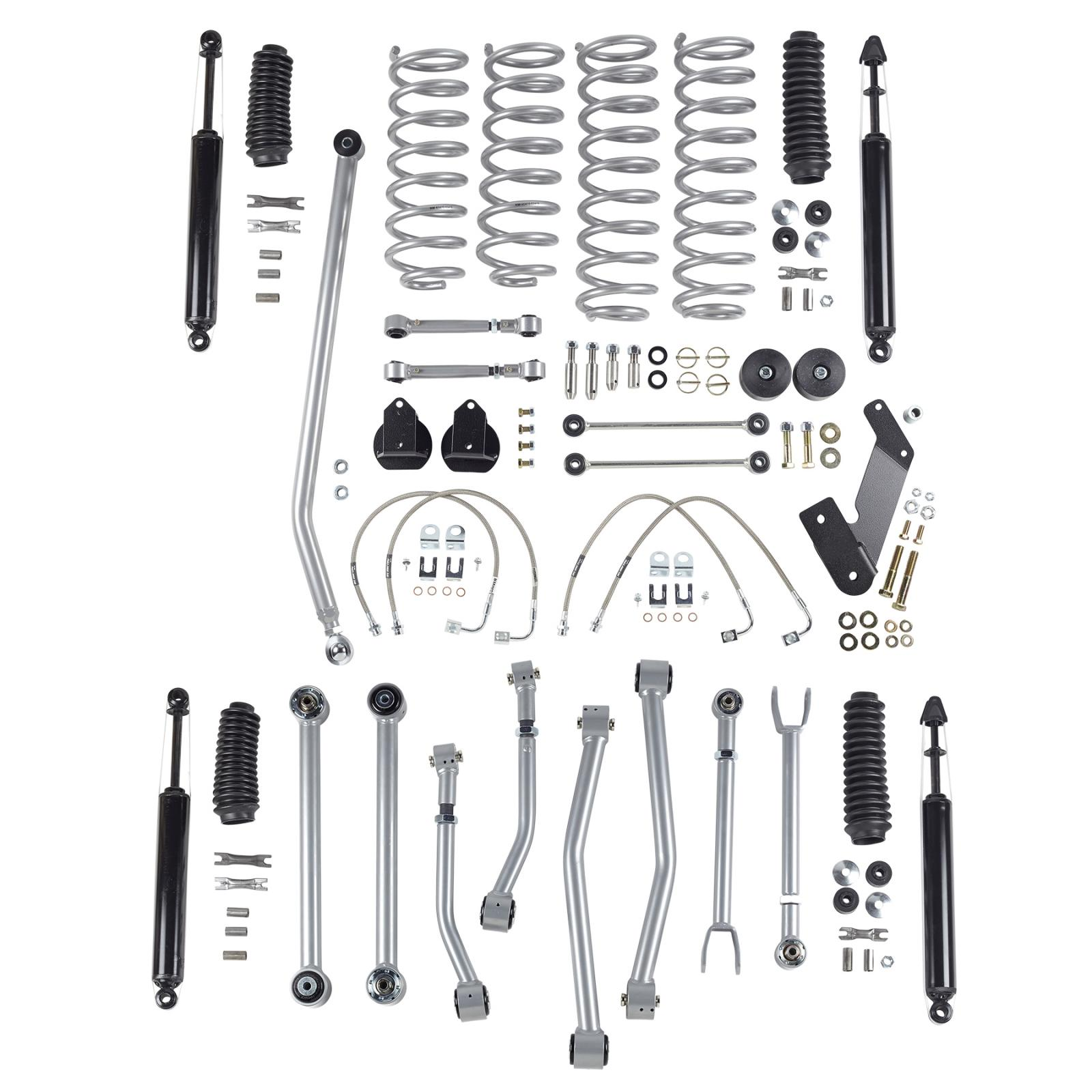 Rubicon Express Lift Kit 3 5 Inch Super Flex W Twin Tube