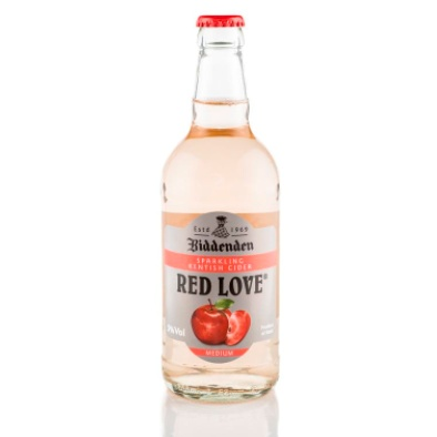 Biddendens Red Love Cider (500ml Bottle) 5%