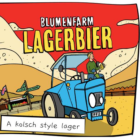 Blumenfarm Lagerbier 4.8%
