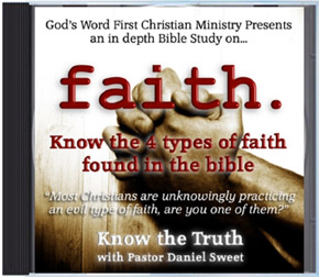Faith Sermon Audio CD